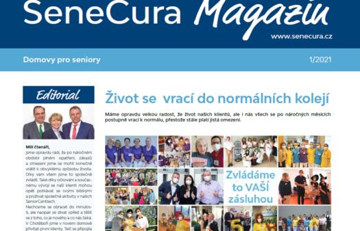 Nové číslo našeho SeneCura Magazínu